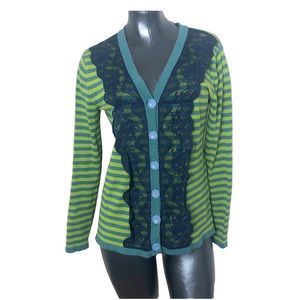 Matilda Jane Quirky Lace Front Cardigan Sweater